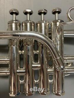 Schilke P5-4 Bb/A Piccolo Trumpet Silver-Plated NO DENTS NO DINGS