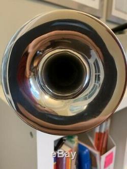 Schilke P5-4 Piccolo Trumpet Silver-Plated NO DENTS NO DINGS