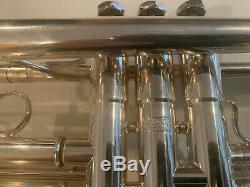 Schilke Silver B2 Trumpet. 460 bore ML W Original case