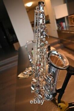 Selmer AS42 Professional Alto Saxophone Gently Used Silver Plated