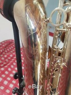 Selmer France Super Action 80 Series III Tenor SILVER. Great Cond. Jubilee Model