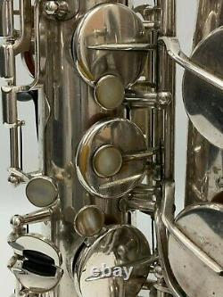 Selmer Mark VI Tenor Saxophone 1969 Silver-Plated Finish withProtech Case