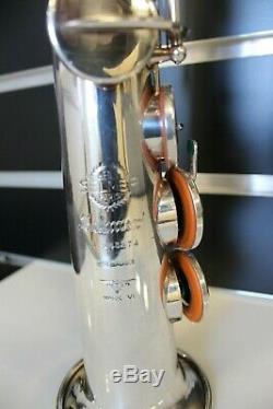 Selmer Mark VI soprano silverplated saxophon, free shipping