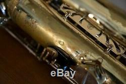 Selmer Mark VII tenor saxophone 1979