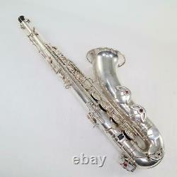 Selmer Paris Super Balanced Action Tenor Saxophone SN 46208 ORIGINAL SILVER