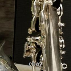 Selmer Series III Tenor Saxophone, Silver Plated, Roo Pads