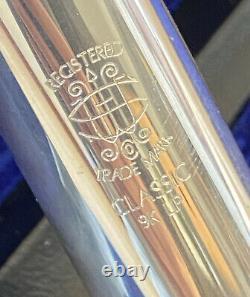 Semi-Professional Flute Haynes Q Series 9k Lip, C# trill, B foot