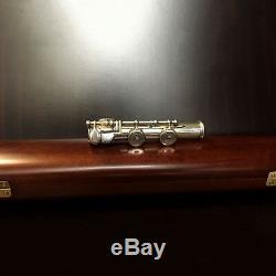 Silver L. L. Lebret Flute