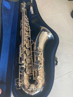 Silver Plated Euro Selmer Paris Mark VI tenor Saxophone #123xxx