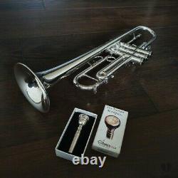 Stomvi MAMBO Titanium XL Bore, original case & mouthpiece GAMONBRASS trumpet