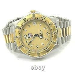 Tag Heuer Professional 2000 Series 200 Meters 964.006F Gold Plated Men's Watch