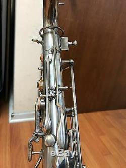 Top Vintage Evette Schaeffer- Buffet Crampon tenor sax model 4 extra trill keys