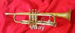 Trumpet OLDS Recording Los Angeles, California serial # 74324, and Original case