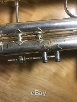 Used Bach Stradivarius Silver Trumpet Model 37