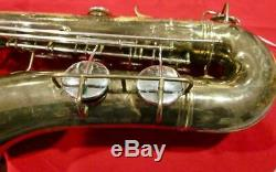 Used Vintage Conn 16M professional Tenor Saxophone made in the USA withcase AS-IS