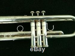 Very Nice S. E. Shires Silver Plated Severinsen Destino III Professional Trumpet