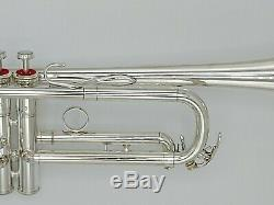 Very Nice Vintage Silver Plated Yamaha 739T Schilke Clone Professional Trumpet