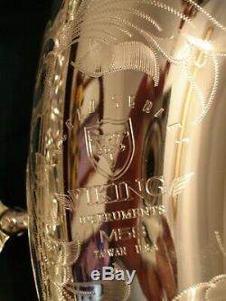 Viking M-58S Silver Plated Tenor Saxophone