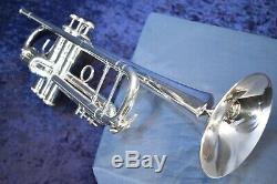 Vincent Bach Stradivarius 180S-37 Model 37 Trumpet, Silver Plate withCase, Mpc