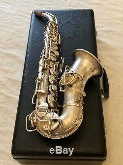 Vintage 1926 C. G. Conn New Wonder Chu Berry Curved Soprano Saxophone, NR