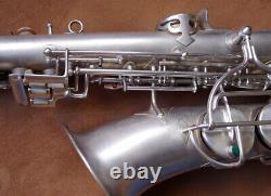 Vintage 1930's Holton 201 Revelation Silver Eb Alto Saxophone Overhauled