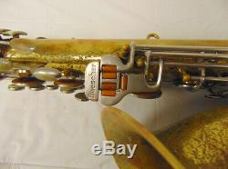 Vintage 1963 Buescher 400 Tenor Saxophone