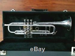 Vintage 1978 Bach Stradivarius 37 Professional Trumpet with Hard Case