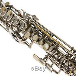 Vintage DOLNET Soprano Saxophone Repadded PERFECT Ships FREE WORLDWIDE