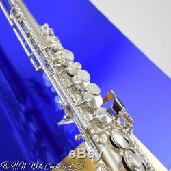 Vintage H. N. White King C Soprano Saxophone Rare and Fantastic