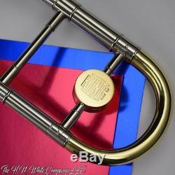 Vintage King H. N. White 2B SilverSonic Trombone Great
