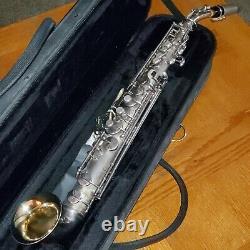 Vintage King Saxello Bb Soprano Saxophone