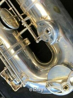 Vintage SELMER SUPER BALANCED ACTION BARITONE Saxophone Nr 52951 Repad PERFECT