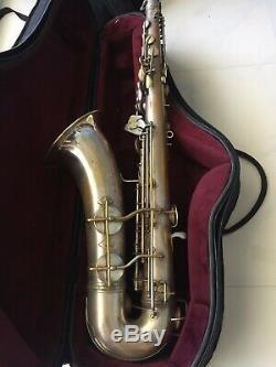 Vintage Silver Conn 10 M Naked Lady tenor Saxophone 1939 #285xxx