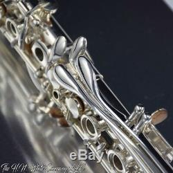 Vintage Silver King H. N. White Clarinet Sterling Silver Bell Amazing Conditio