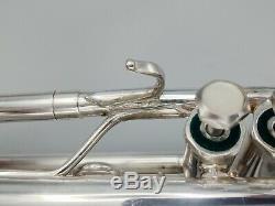 Vintage Silver Plated Schilke B2 Professional Trumpet with Original Schilke Case
