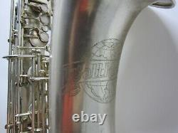 Vintage Weltklang Baritone Saxophone GDR Germany, low A