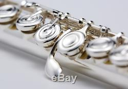 YAMAHA New Model YFL-222 Flute with Case Silver Expedited Shipping