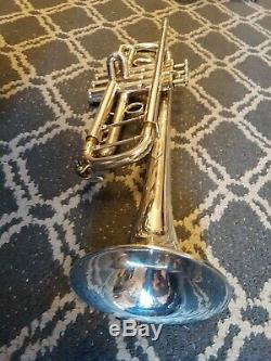 Yamaha 8335gs Trumpet Silver Plated