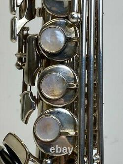 Yamaha Model YSS-875S Custom Soprano Saxophone SN 001336 Silver-Plated