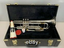Yamaha Xeno YTR-8335 Silver Plated Professional Trumpet w Case Japan