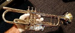 Yamaha Xeno Ytr-8335 Ytr-8335s Silver Trumpet Immaculate! Restored