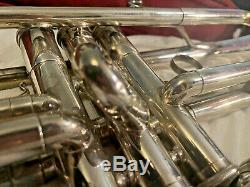 Yamaha YTR-736 Silver Plated Professional Trumpet