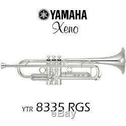 Yamaha YTR-8335-RGS-II Trumpet Silver Plated Free Shipping