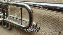 Yamaha YTR6445HS MARK II heavyweight LARGE BORE, case, mpc GAMONBRASS trumpet