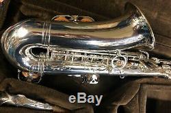 Yanagisawa Silver Plated Alto Sax 900 Pro Setup. Rare. Nice