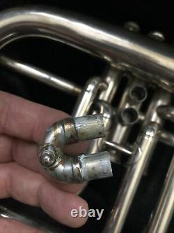 $a£ Vintage Collect/play Legend Very Early Selmer Flugelhorn 4 Place Dancourt
