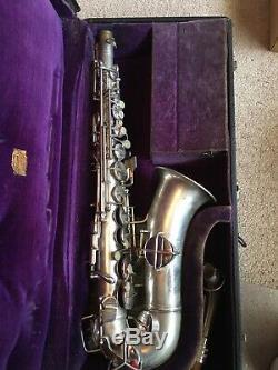 1929 Conn Chu Berry New Wonder Saxophone