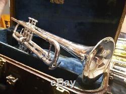 1937 Benge Chicago # 558 Avec Le Cas. Corne Légendaire Extrêmement Rare Trouver