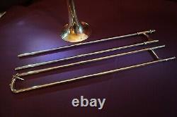 1947 Fe Olds Et Fils Super Professionnel Pour Trombone Ténor-los Angeles En Californie Etats-unis