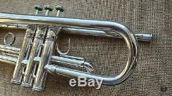 1957 E. Benge Burbank Resno Trempé Bell, En Californie. Trompette USA Gamonbrass